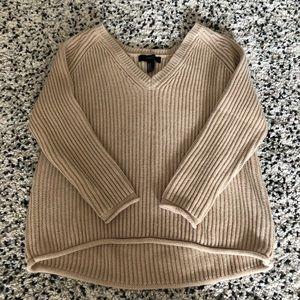 Oversized soft knit sweater